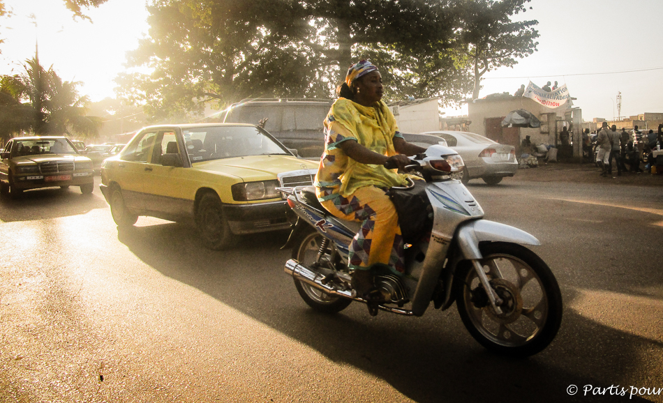 Dans les rues de Bamako, Mali