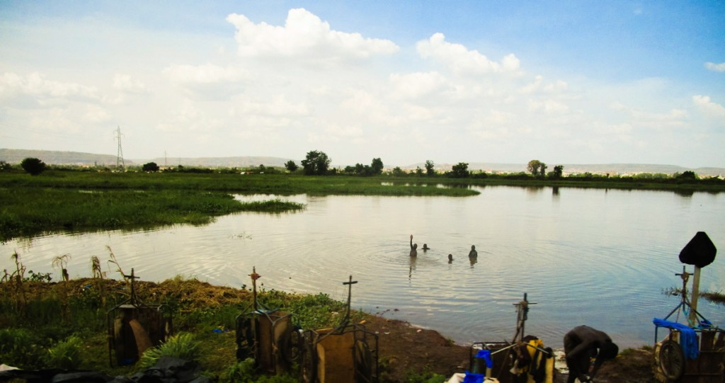 Rives du fleuve Niger, Bamako, Mali