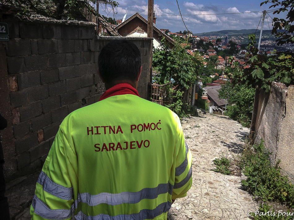 Urgences dans les ruelles de Sarajevo. Sarajevo, un autre regard