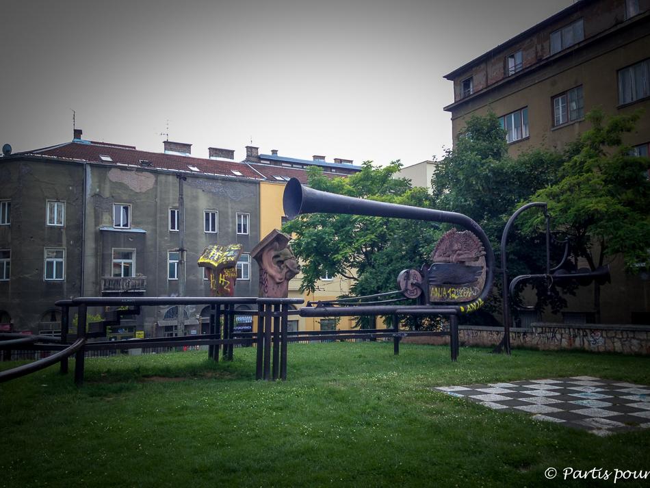 Découvrir Sarajevo avec un enfant.