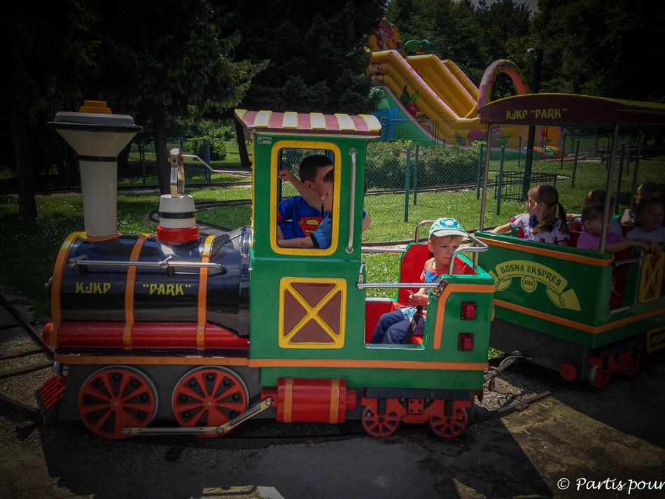 Dans le zoo de Sarajevo. Découvrir Sarajevo avec un enfant