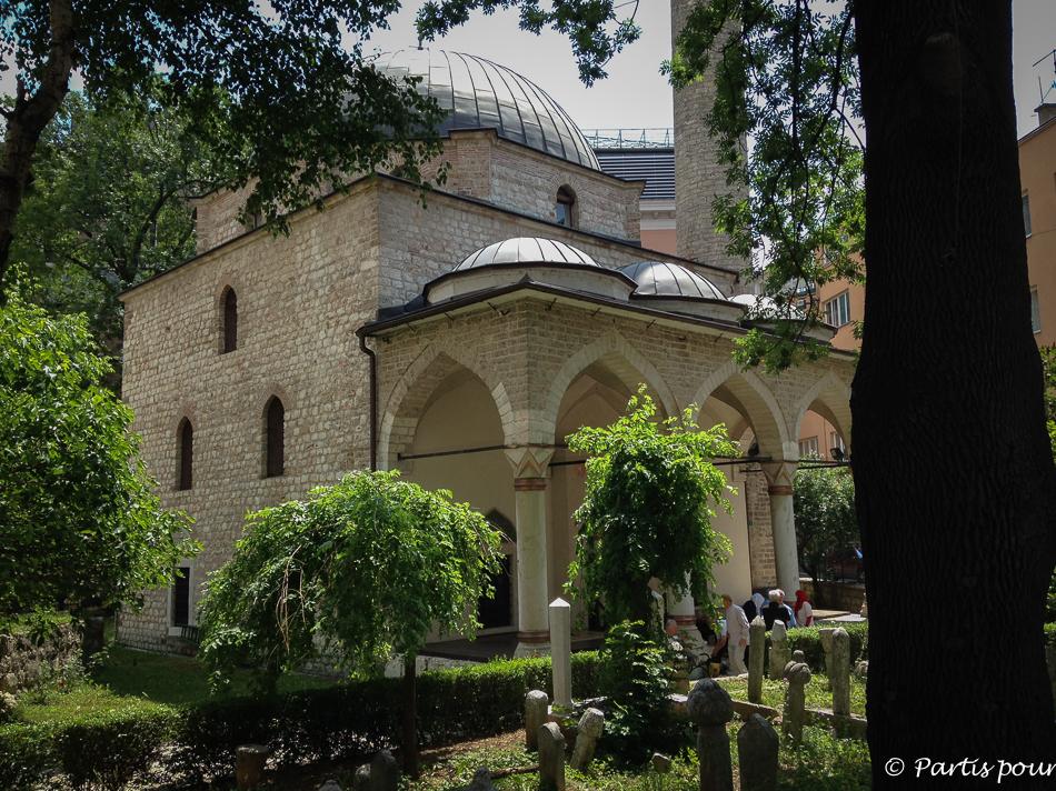 Mosquée sur Ferhadija. Découvrir Sarajevo avec un enfant
