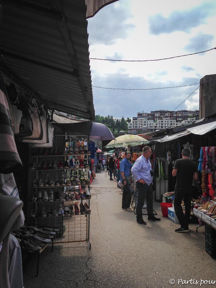 Marché de Kosevo. Découvrir Sarajevo avec un enfant
