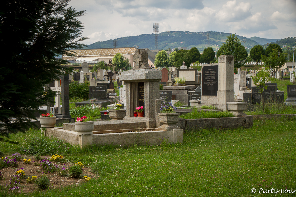 Cimetière de Kosevo. Découvrir Sarajevo avec un enfant