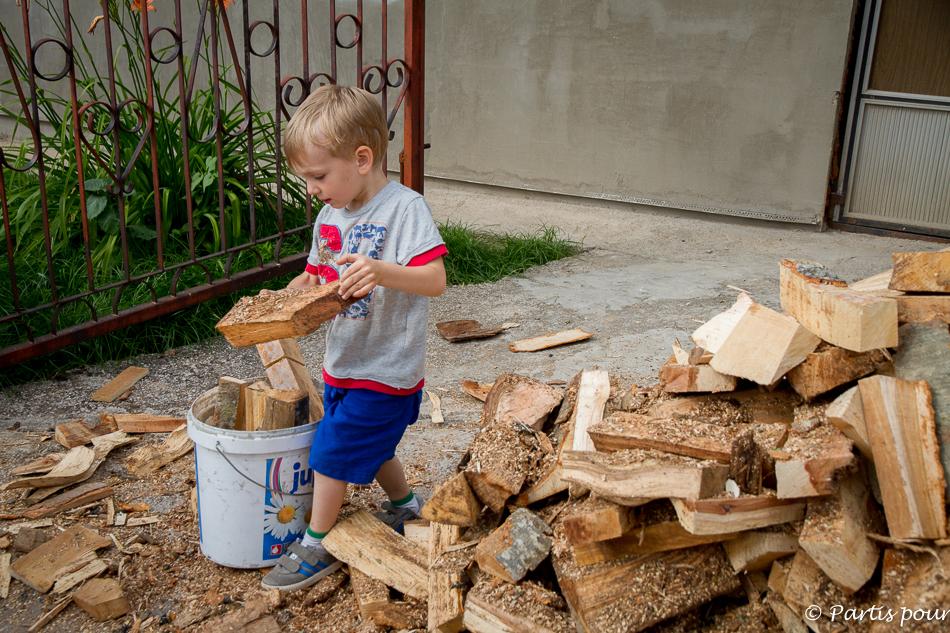 Ranger du bois. Découvrir Sarajevo avec un enfant