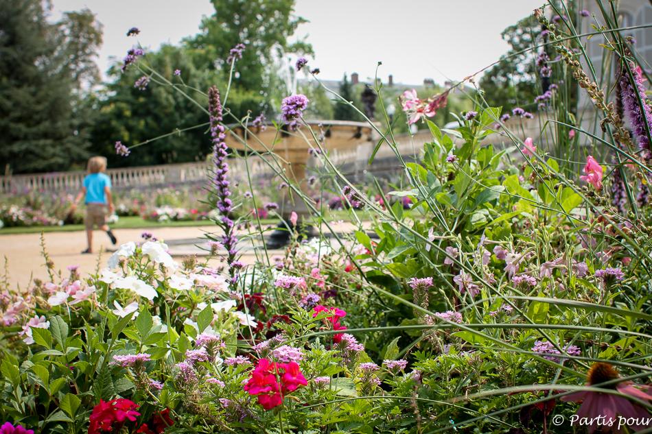 Bilan 2015. Dans le jardin de la mairie d'Epernay, France