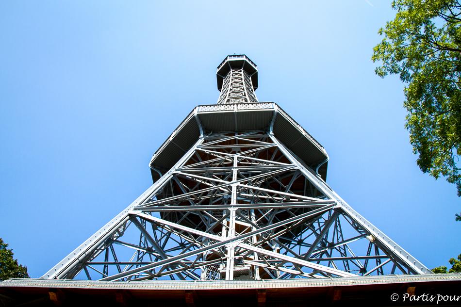 Tour d'Observation. Prague avec un enfant