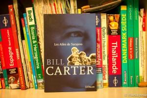 Les Ailes de Sarajevo, Bill Carter, éditions Intervalles. Bosnie-Herzégovine