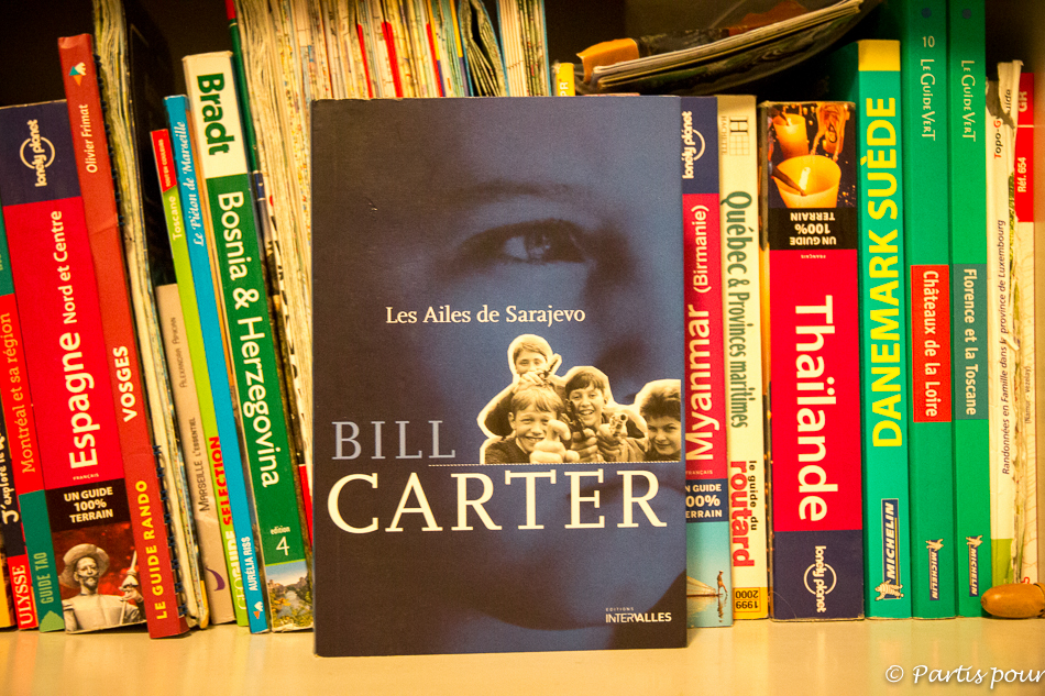 Les Ailes de Sarajevo, Bill Carter