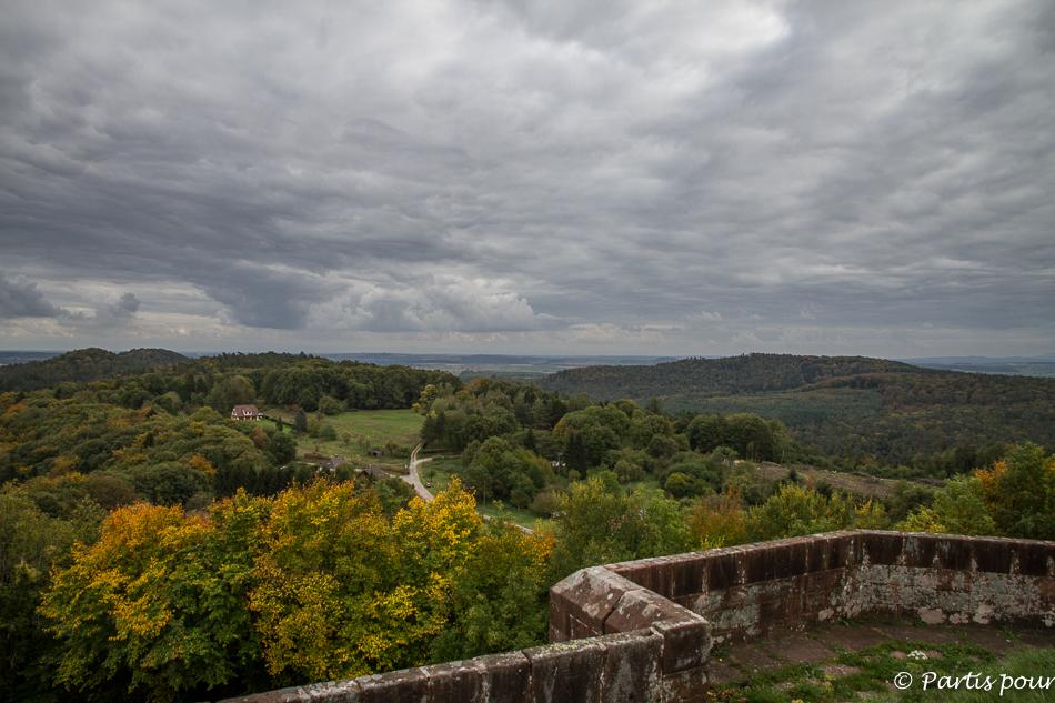 Bilan 2015. Château de Lichtenberg, Bas-Rhin, Alsace, France.