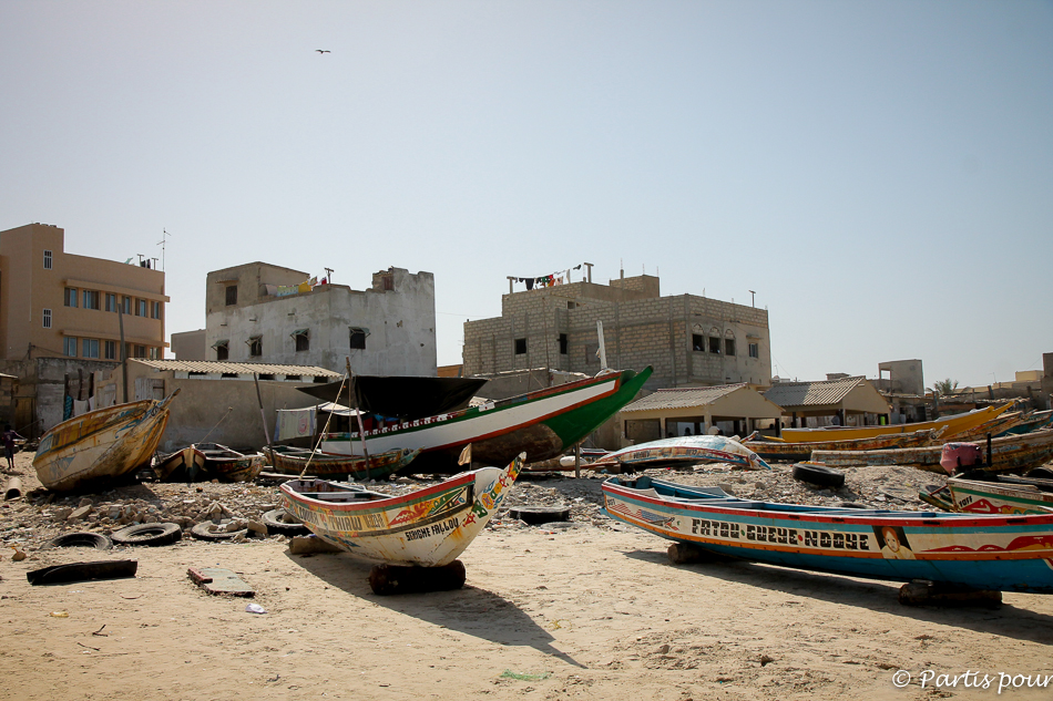 Bilan 2015. Sur la plage des pêcheurs de Yoff, Dakar, Sénégal