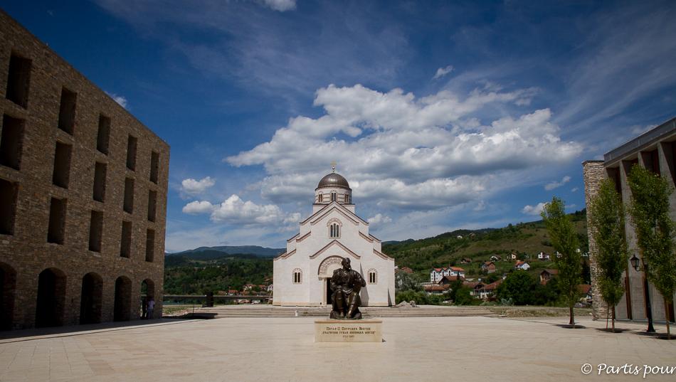 Eglise orthodoxe, Andricgrad, Visegrad, Bosnie-Herzégovine