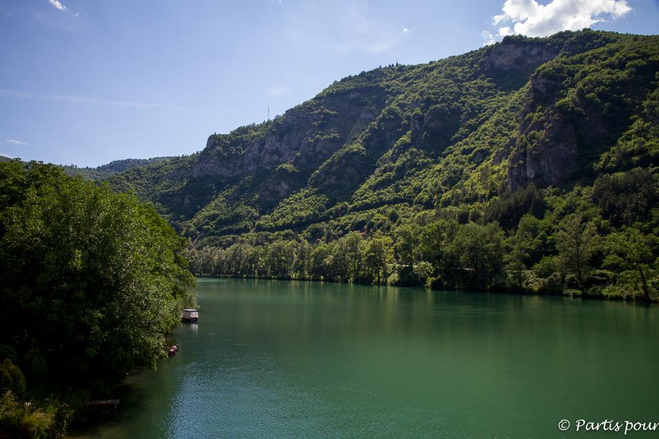 La Drina, Visegrad, Bosnie-Herzégovine