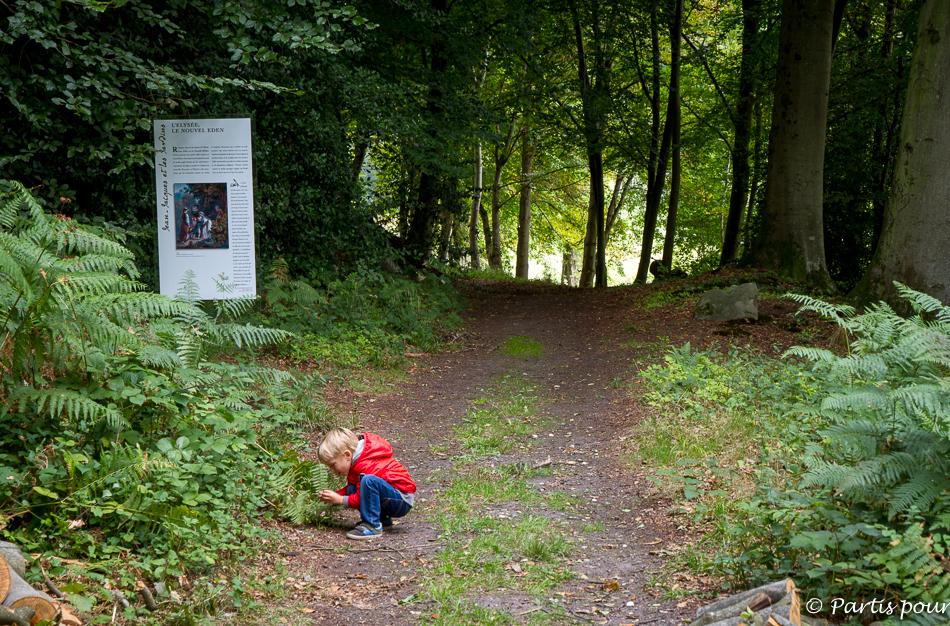 Parc Jean-Jacques Rousseau, Ermenonville, Oise