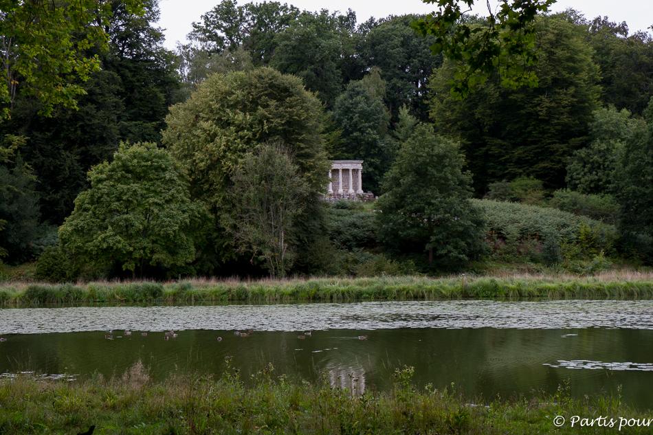 Le temple de la philosophie au Parc Jean-Jacques Rousseau à Ermenonville, Oise