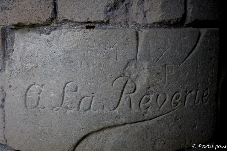 Autel de la Rêverie au Parc Jean-Jacques Rousseau à Ermenonville