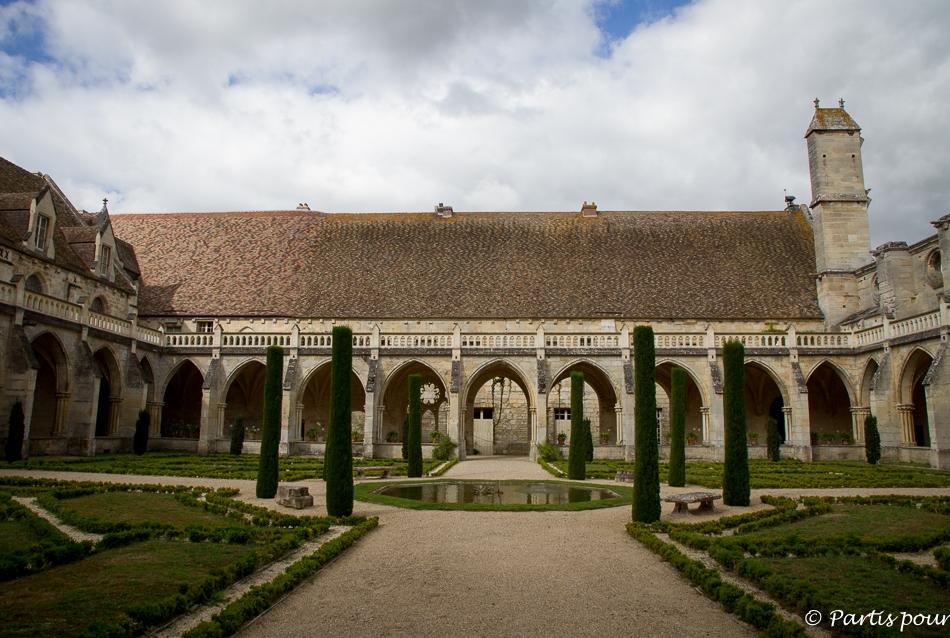 Cloître de l'Abbaye de Royaumont, Val d'Oise