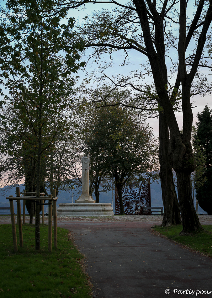 Dans le parc d'Artxanda à Bilbao