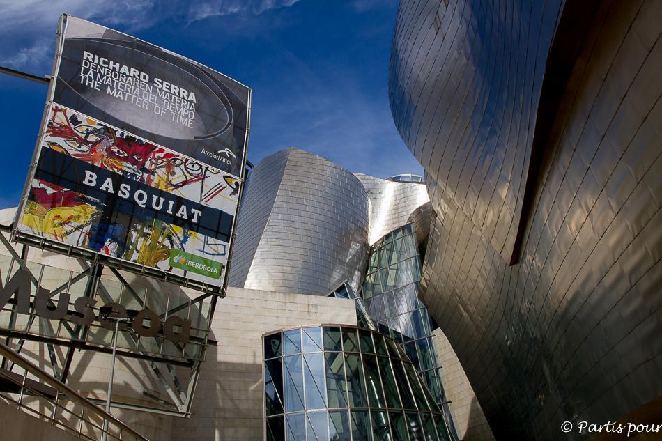 Exposition Basquiat au Guggenheim Museum à Bilbao
