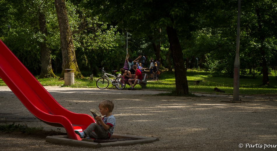 Vrelo Bosne, Ilidza. Sortir de Sarajevo
