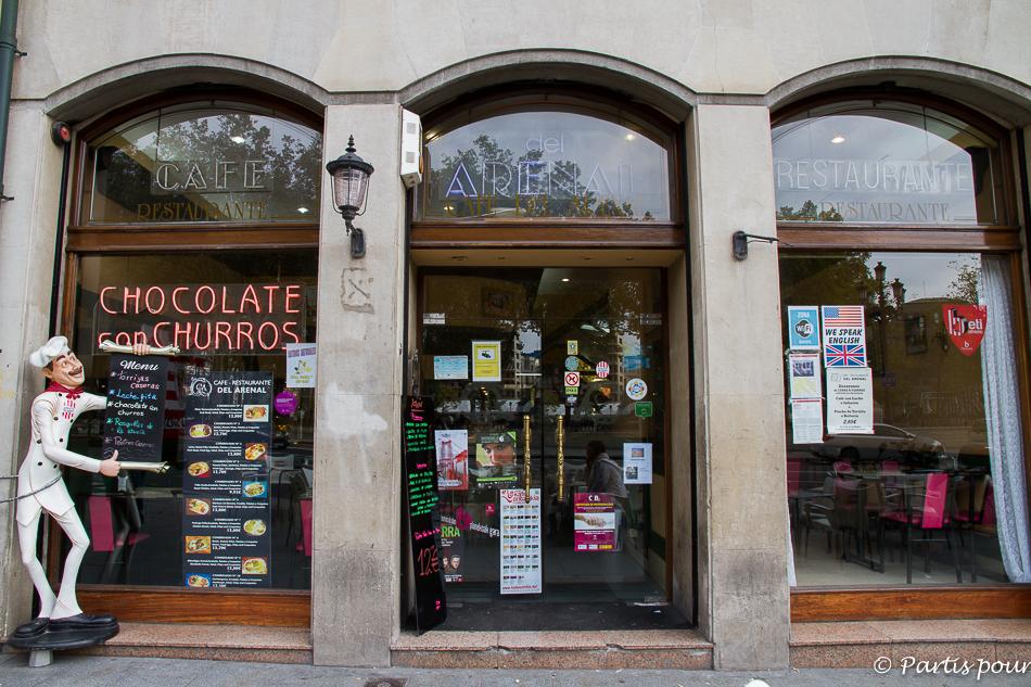 Café Restaurant Del Arenal dans le Casco Viejo à Bilbao
