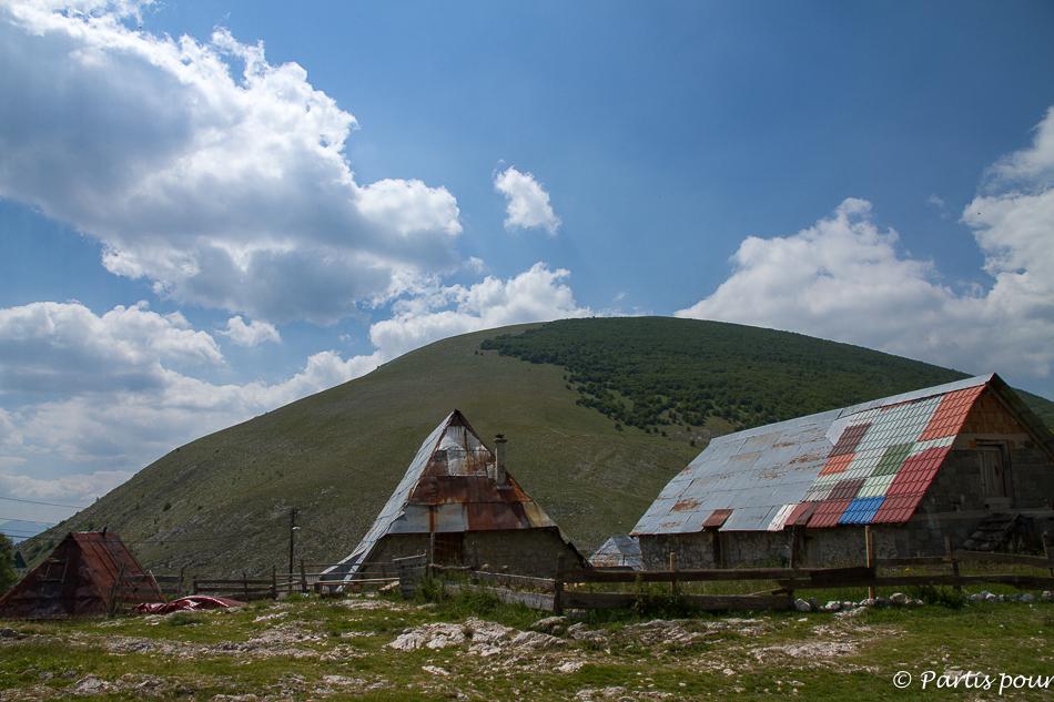 Lukomir. Sortir de Sarajevo