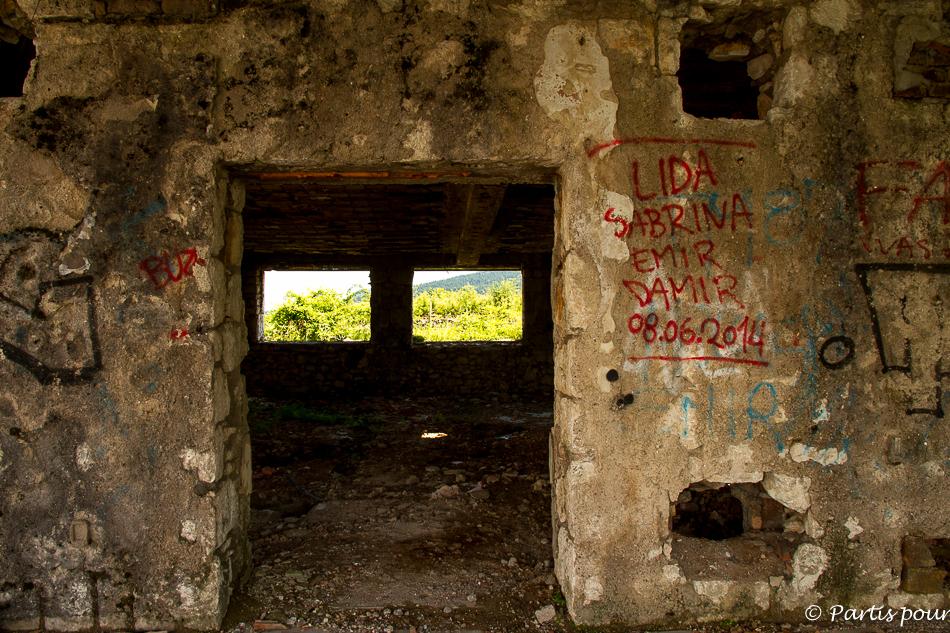 Trebevic. Sortir de Sarajevo