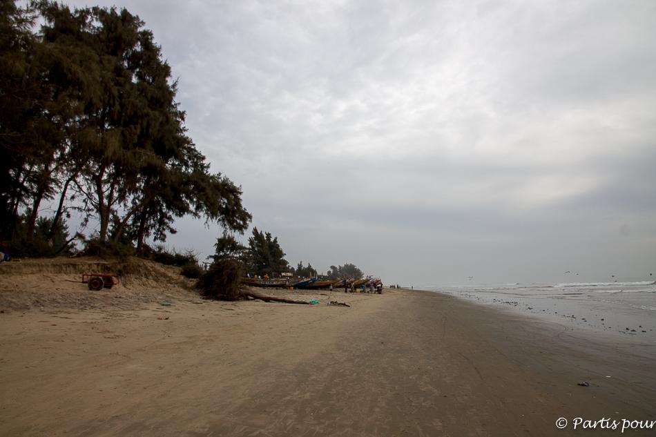 Sur la plage d'Abéné. Itinéraire d'un voyage au Sénégal