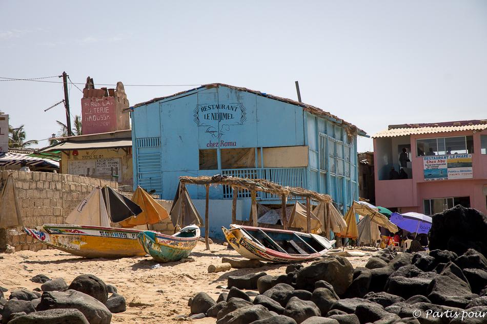 À la pointe des Almadies à Dakar. Itinéraire d'un voyage au Sénégal