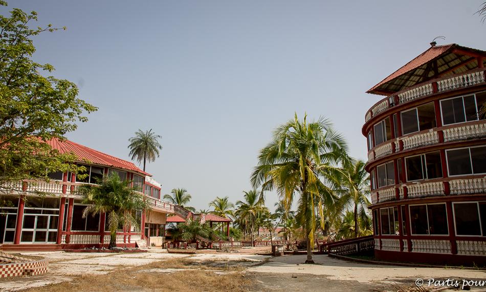 Le complexe hôtelier de luxe de Djiromaït en Casamance. Itinéraire d'un voyage au Sénégal