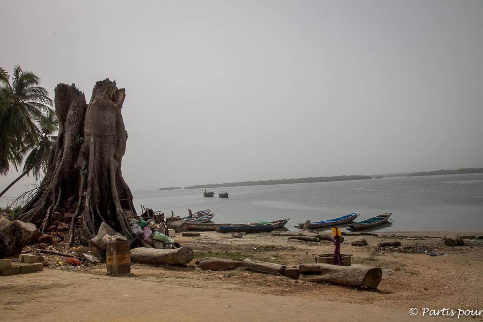Le port d'Elinkine. Itinéraire d'un voyage au Sénégal