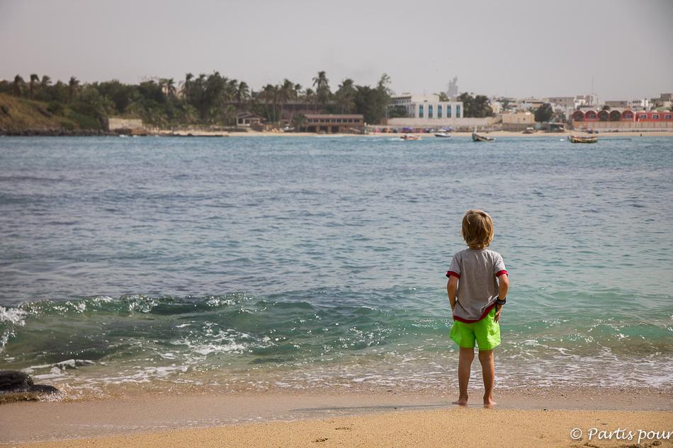 En face de Dakar, la petite île de N'Gor. Itinéraire d'un voyage au Sénégal