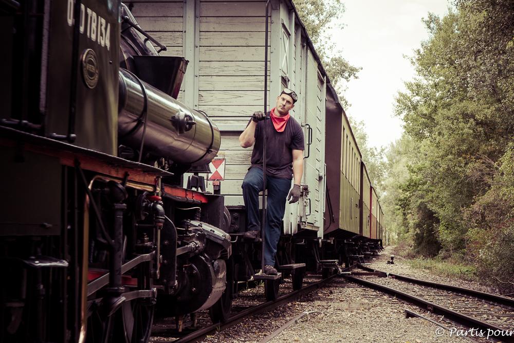 Chemin de fer touristique du Rhin à Volgelsheim. Que faire en Alsace avec un enfant ?