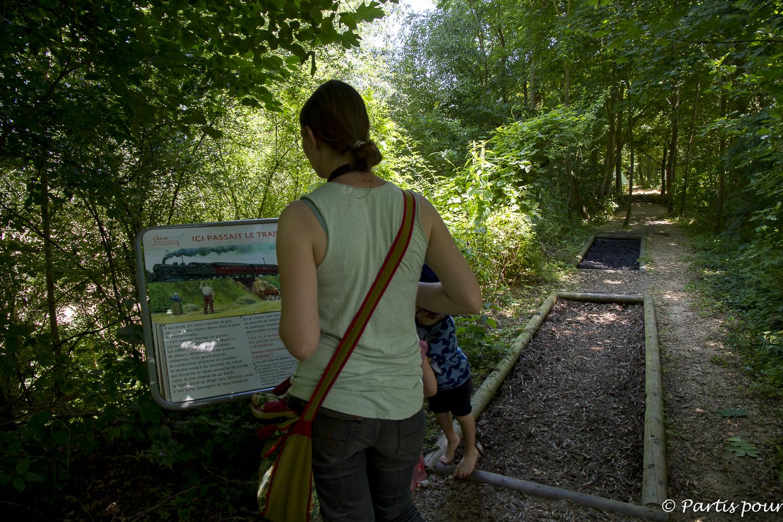 Sentier pieds de la Maison de la Nature de Muttersholtz ou SensoRied... L'Alsace en famille