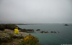 Donner du sens au voyage surtout lorsque l'on a un enfant... En regardant Saint-Malo