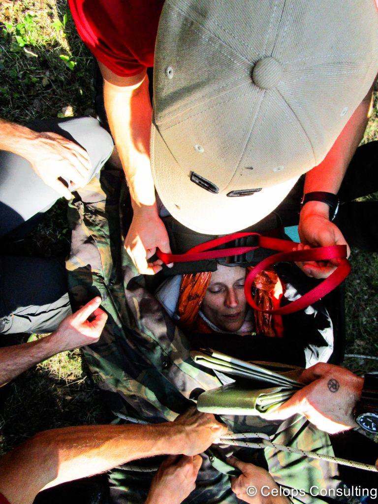 Que faire en cas de traumas ? Evacuation d'un blessé