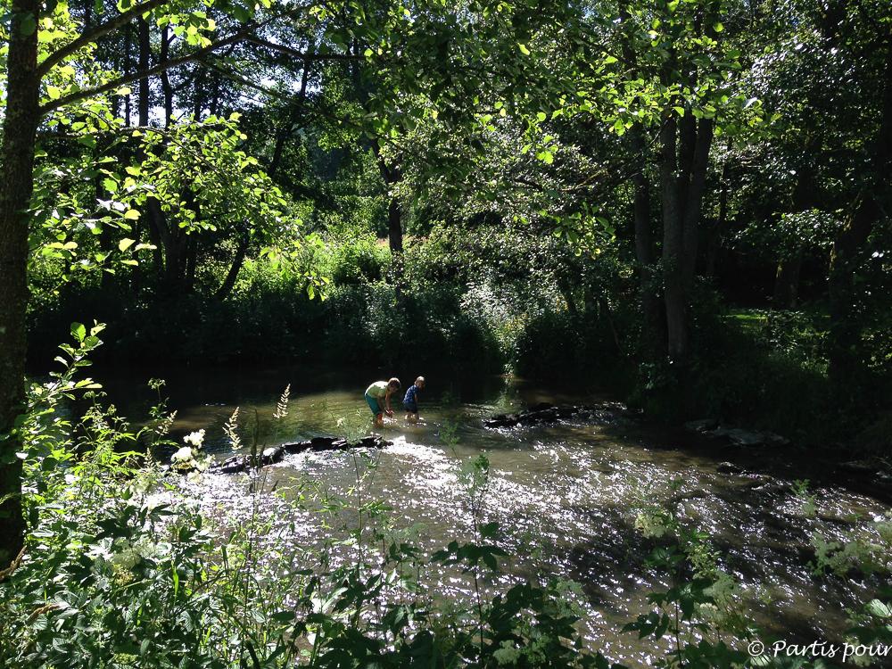 Camping le Moulin de Bistain. La Province de Luxembourg en famille