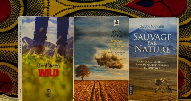 Première sélection de livres qui invitent à la marche : Tomas Espedal, Cheryl Strayed et Sarah Marquis