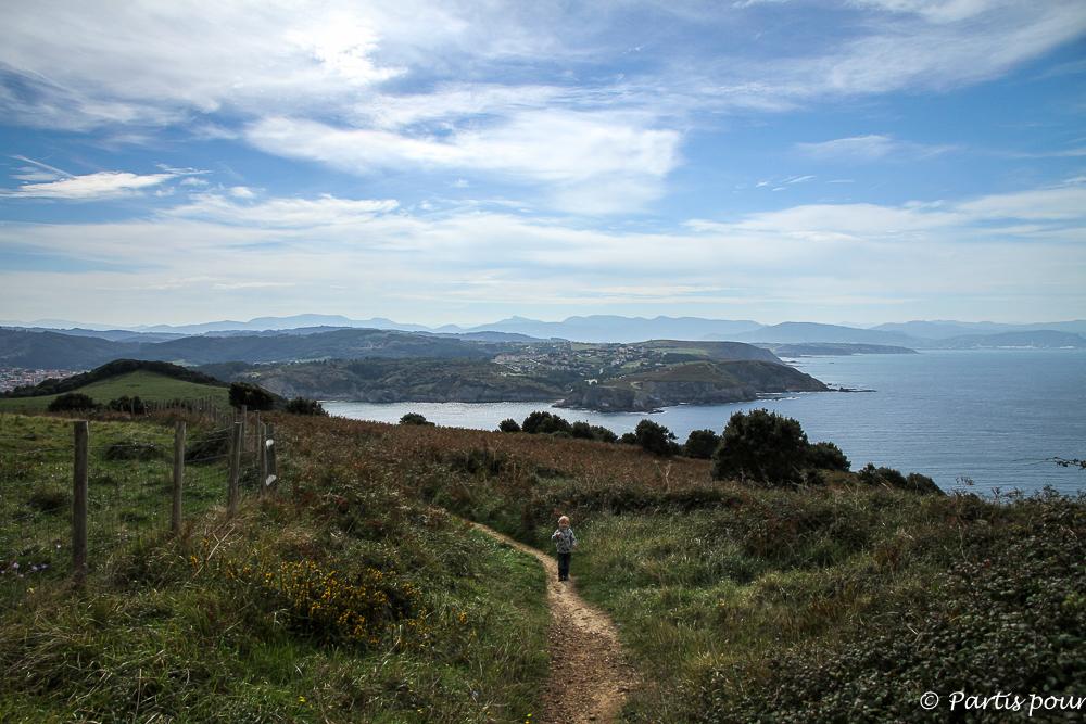 Gorliz, entre mer et montagnes. Pays-Basque, Espagne