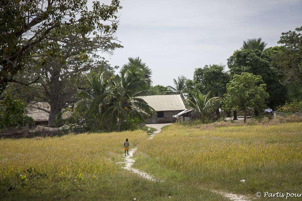 Sur l'île de Wendaye, Casamance, Sénégal
