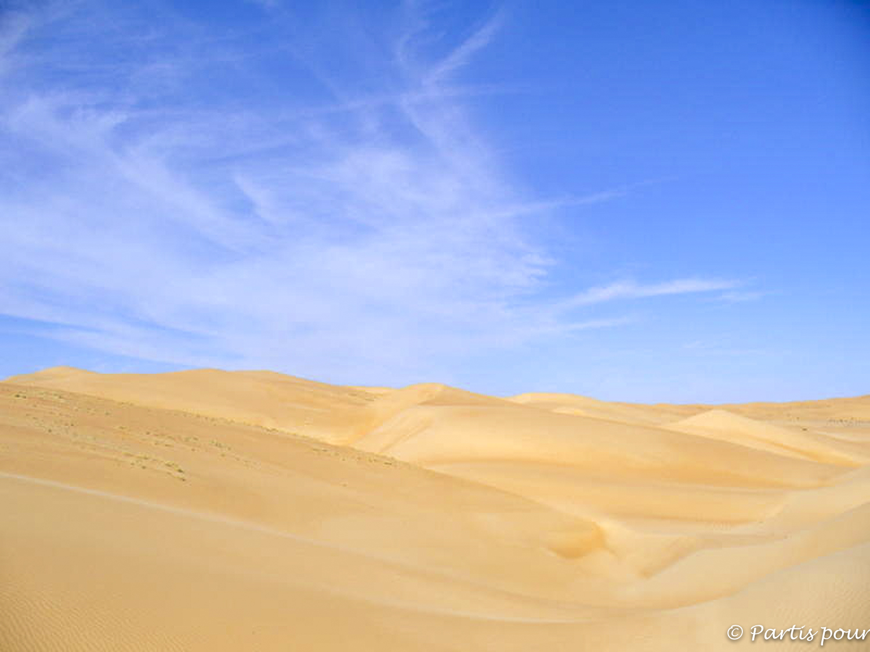 Le désert... Dans l'Adrar mauritanien, Mauritanie