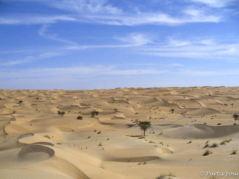 Désert... Dans l'Adrar mauritanien...