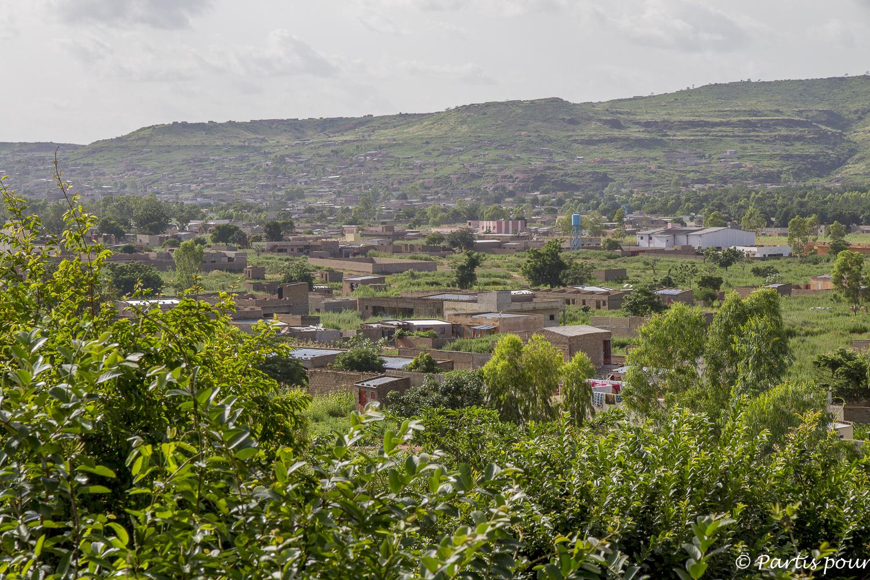 À la saison des pluies, tout est vert à Bamako, Mali. Billet de Bamako #3