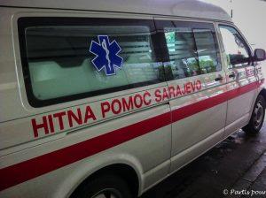 Un autre regard sur Sarajevo depuis le service des Urgences de la Ville. Bosnie-Herzégovine