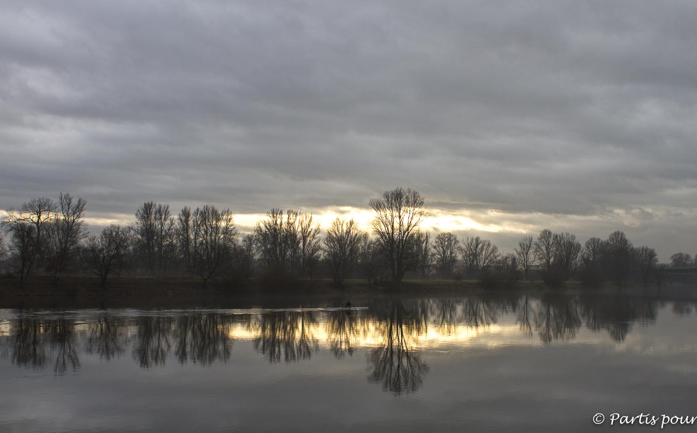 Sur les bords de l'Elbe