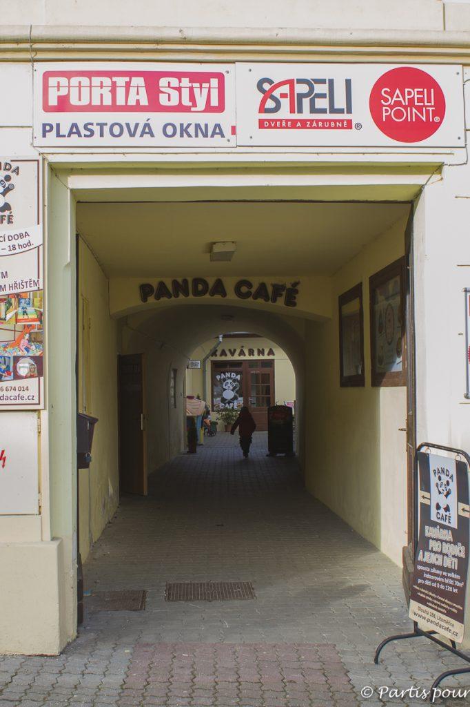 Panda Café, un café pour les parents et les enfants... Un lieu kid's friendly à Litomerice, République tchèque