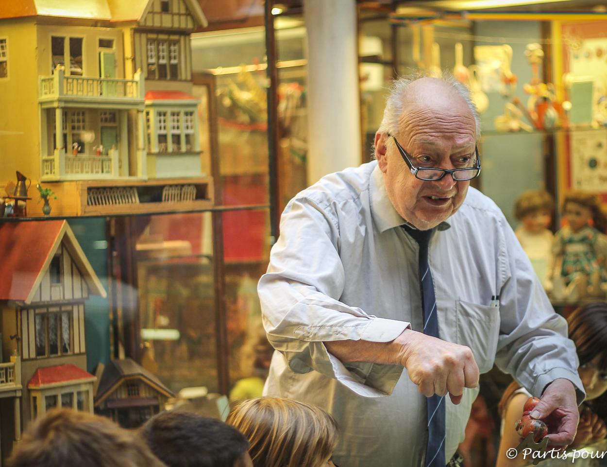 Musée du Jouet. Démonstration de jouets mécaniques. Nos bonnes adresses à Bruxelles-Centre