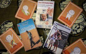 Quand les livres sont une invitation à la marche #2... Alexandre Poussin, Jean-Christophe Rufin et Théodore Monod