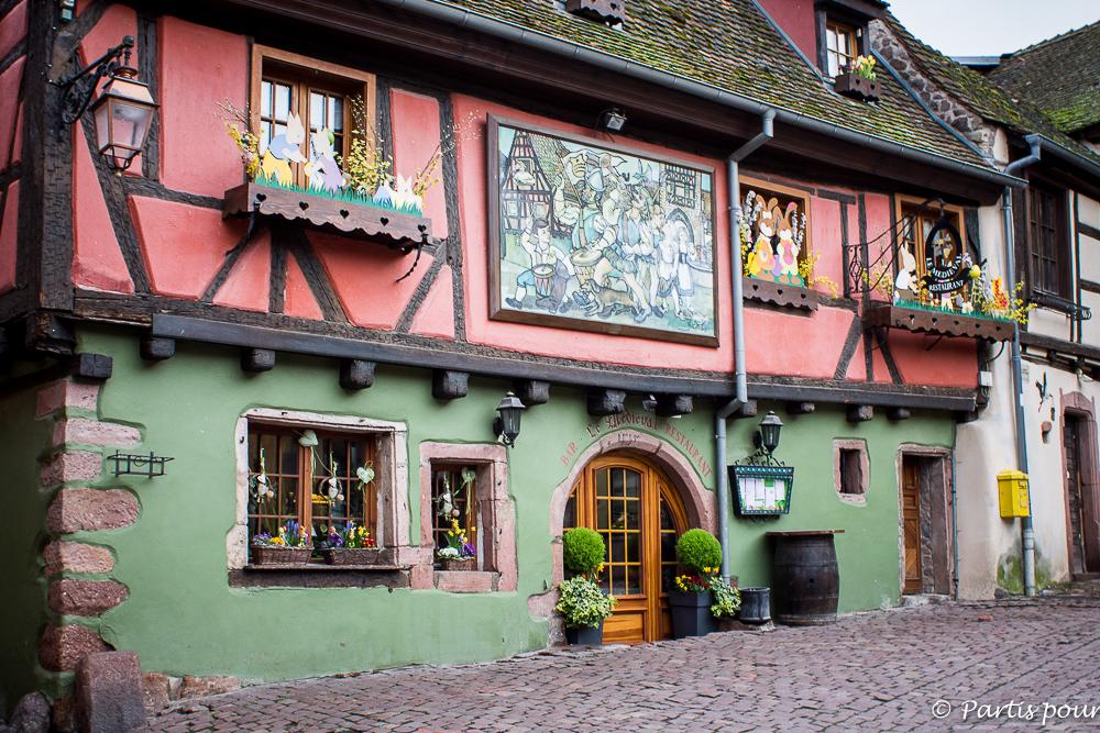Riquewihr, Alsace, France. Bilan d'une année de vie nomade