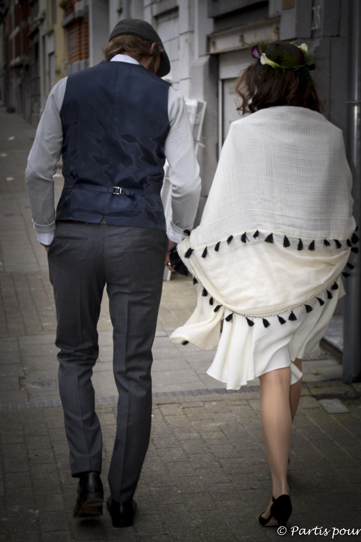 Mariage à Bruxelles, Belgique. Bilan d'une année de vie nomade